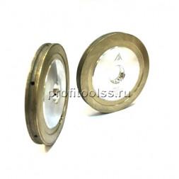 """Алмазные периферийные круги с внутренним охлаждением 100х22 профиль """"карандаш"""""""