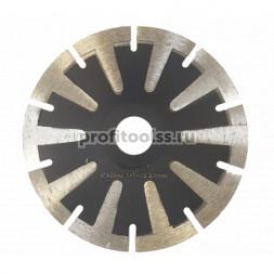 """Алмазный отрезной диск """"криворез"""" т-сегмент 22,2 мм"""