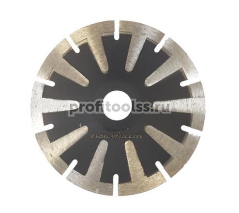 """Алмазный отрезной диск """"криворез"""" т-сегмент посадка 22,2 мм"""