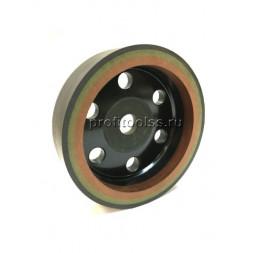 Шлифовальные круги на бакелитовой связке трехслойные 150х22 15х10 зерно 80/180/320