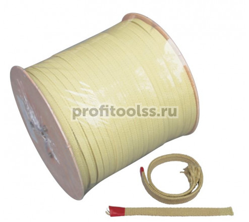 Шнур кевларовый термостойкий для печей закалки Москва