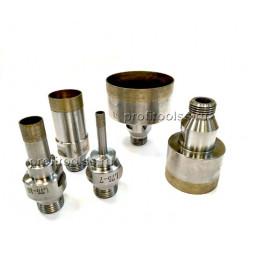 Алмазные сверла для стекла L=75мм 1/2 Gas