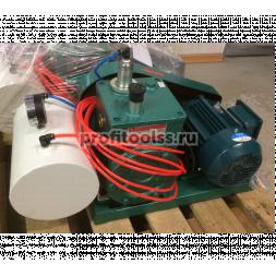 Вакуумный насос с ресивером и электродвигателем в сборе