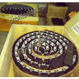 Задний прижимной конвейер фацетного станка Deway DXM251/261