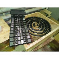 Задний прижимной конвейер фацетного станка Enkong XM251/351