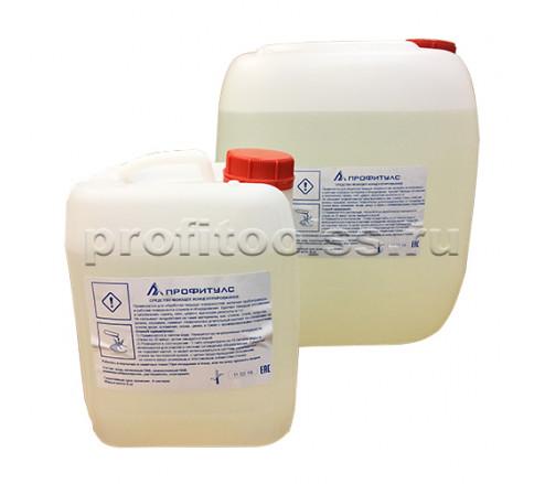 Жидкость для очистки стеклообрабатывающих станков